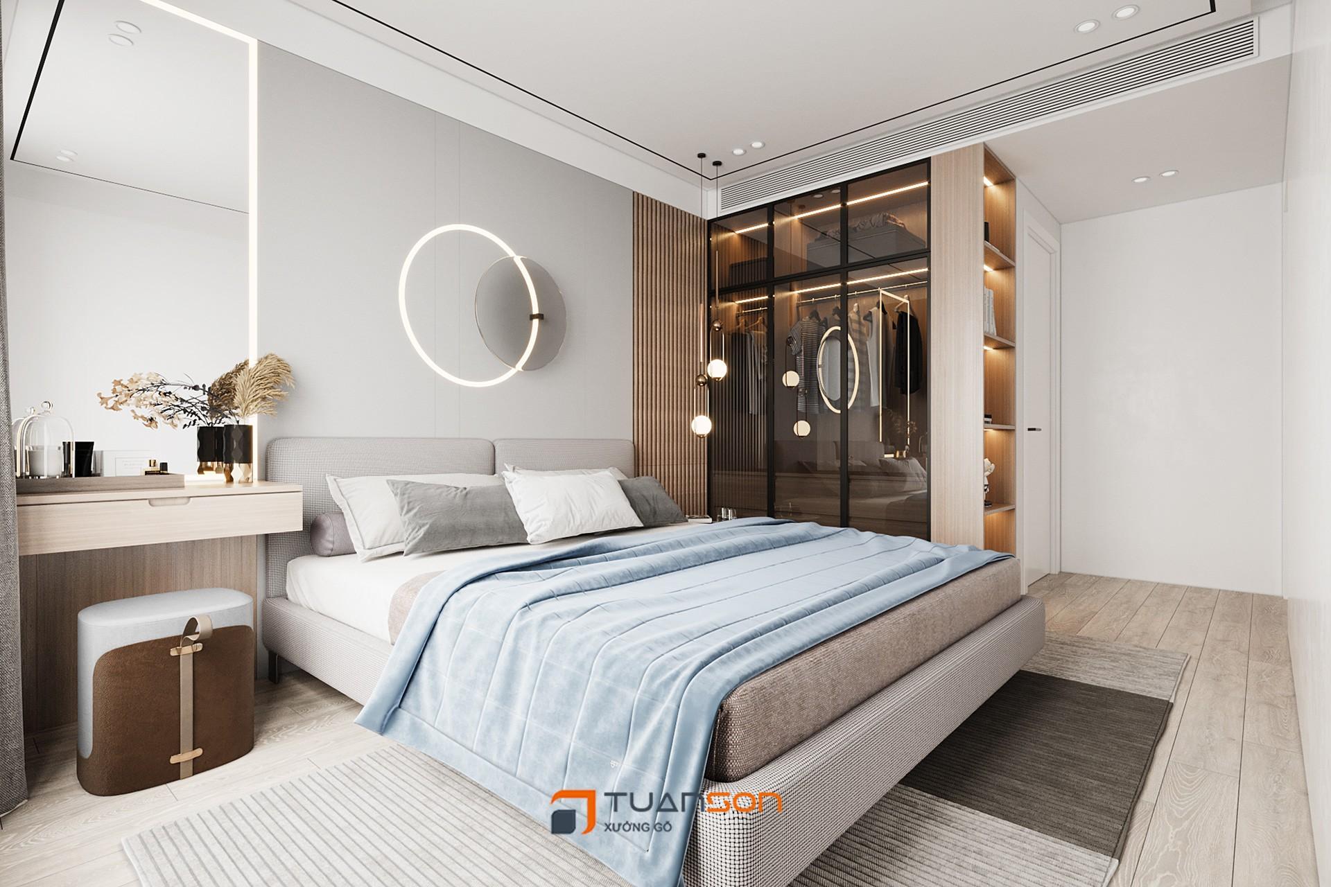 Thiết kế phòng ngủ phong cách Scandinavian (Bắc Âu) tinh tế