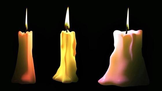 Снятие приворота на 3 свечи