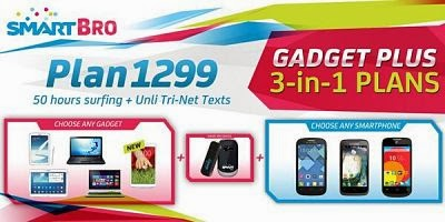Smart Bro 3 in 1Gadget Plan Plus