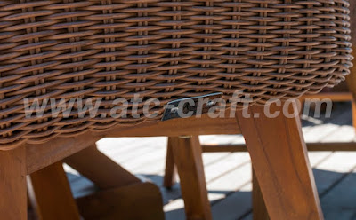 The materials for outdoor lounge furniture are durable