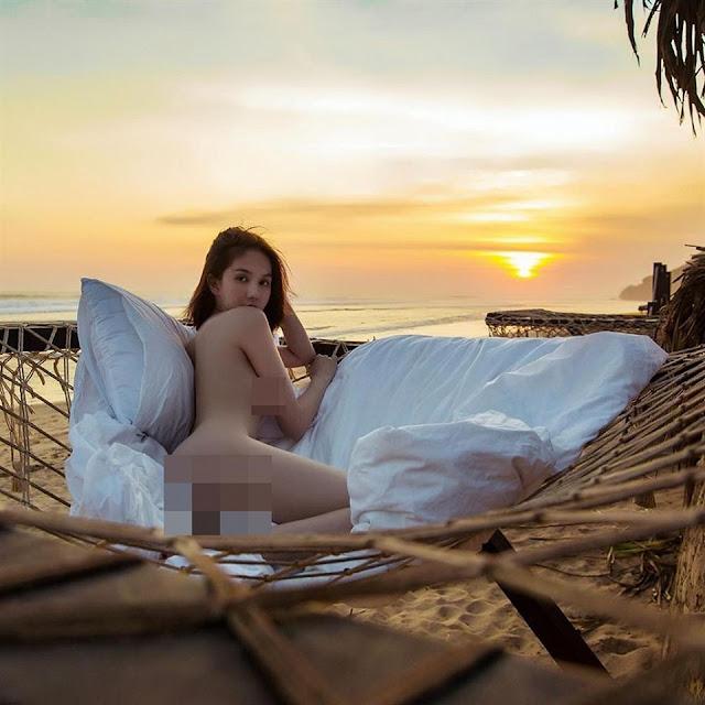 Ảnh nude 100% của Ngọc Trinh tiếp tục 'chiêu đãi' khoảnh khắc phô ngực căng đầy 2