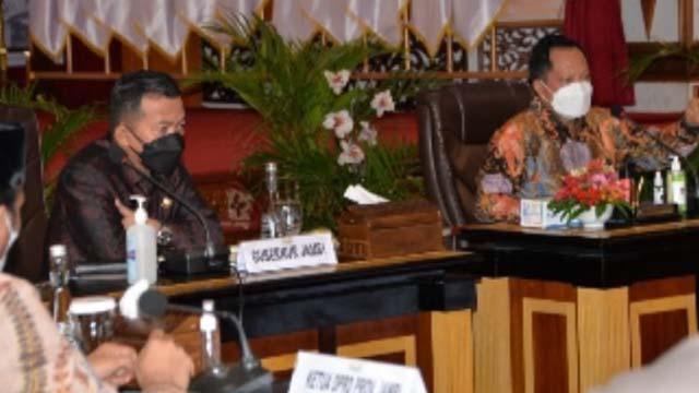 Mendagri Apresiasi Kinerja Pemerintah Provinsi Jambi Tangani Covid-19