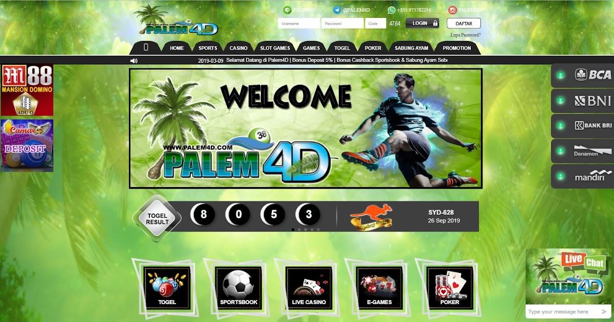 PALEM4D - Website Betting Togel Online Terbaik se - Asia
