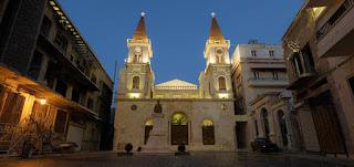 بالصور: كاتدرائية مار الياس المارونية تعود من جديد علامة رجاء وشعاع أمل لمدينة حلب