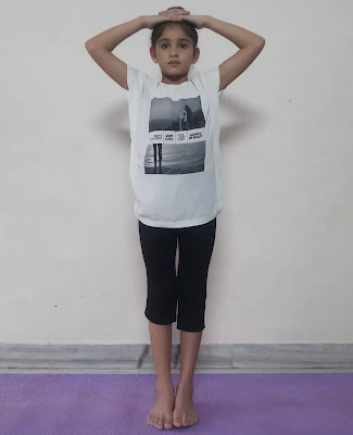 Tadasana steps in hindi