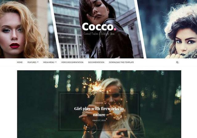 Cocco Blogger Theme