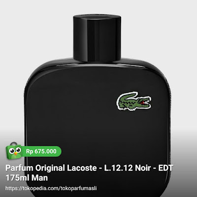 lacoste l1212 noir edt 175ml man