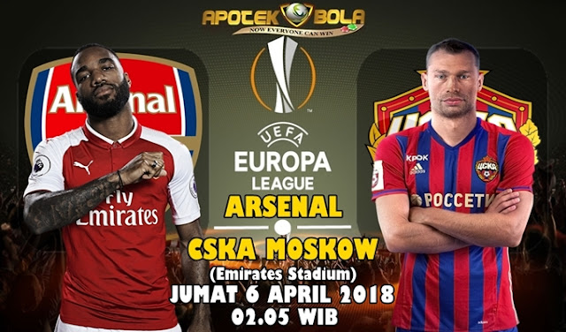 Prediksi Arsenal vs CSKA Moscow 6 April 2018