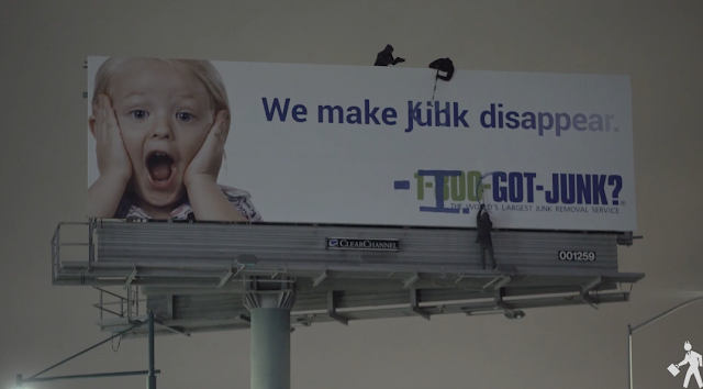 Activists vandalize billboard to blast ICE: 'We made kids disappear'
