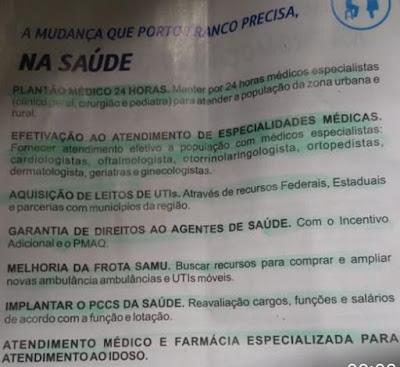 PROMESSAS DE CAMPANHA QUE NÃO FORAM CONCRETIZADAS