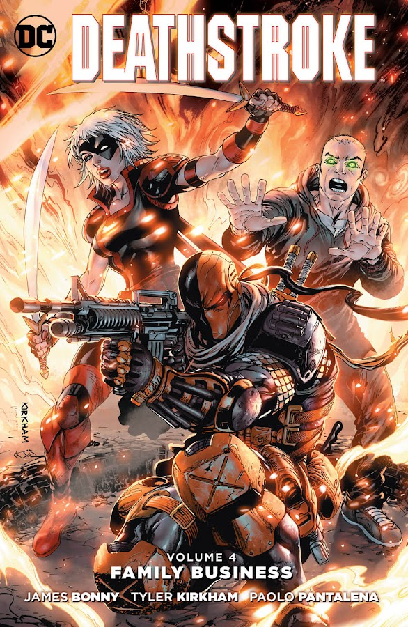 deathstroke family business dc comics new 52 tyler kirkham