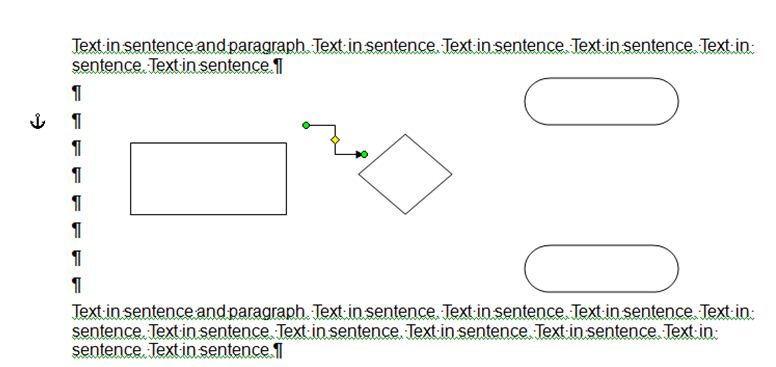 Dave\u0027s tech docs Creating a simple flowchart in Microsoft Word - flow chart word