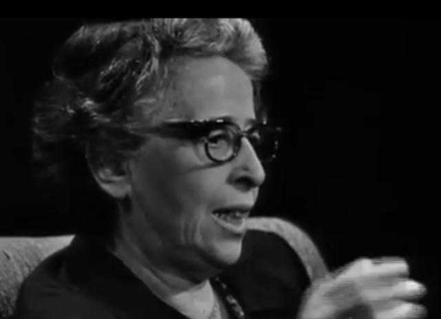 [Personal] Hannah Arendt en el recuerdo (1906-1975) - Blog Desde mi ventana