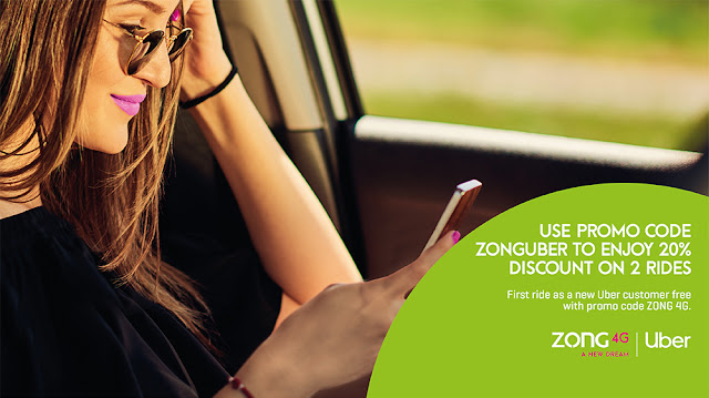 Riding Together – Zong 4G & Uber Exclusive Partnership