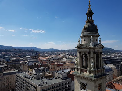 Vistas desde la torre de la Basílica de San Esteban