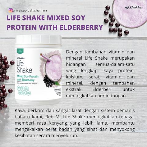 Life Shake Elderberry