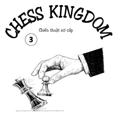 Sách bài tập cờ vua chiến thuật sơ cấp dành cho bé