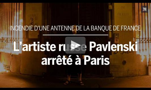 http://www.lemonde.fr/culture/article/2017/10/16/l-artiste-russe-pavlenski-arrete-a-paris-apres-avoir-mis-le-feu-a-la-banque-de-france_5201602_3246.html