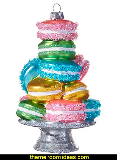 Stacked Macarons Ornament candy tree decorations candy themed christmas decorations