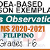 Sample Lesson Exemplars in Filipino  Grades 1-6  Q2