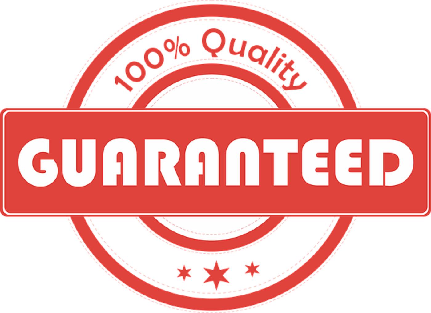 ebay guarantee works info