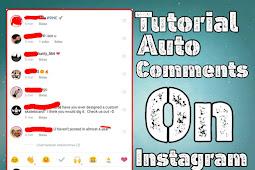 Cara mudah buat auto komen di instagram | auto comment on Instagram 2019