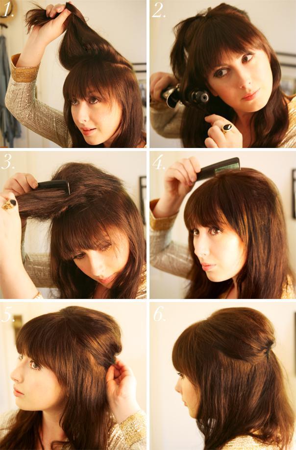 un peinado muy facil de hacer y lo mas importante bonito