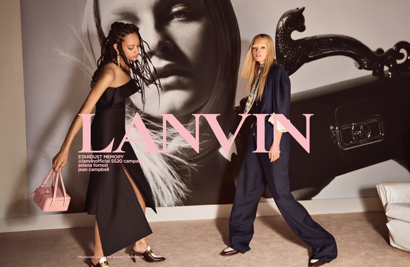 Glen Luchford photographs Lanvin spring-summer 2020 campaign