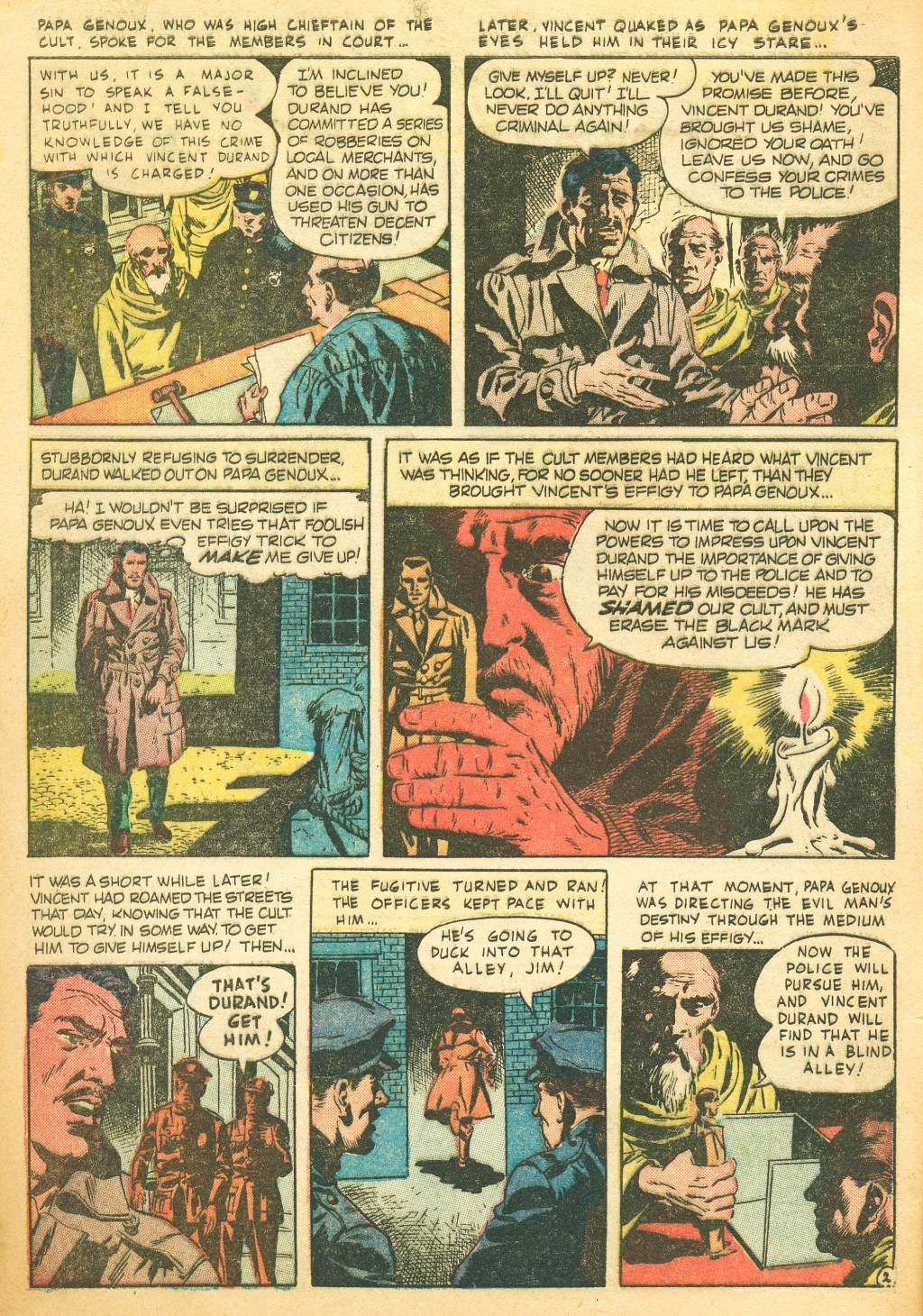 Four Color Shadows The Effigy Wally Wood 1956