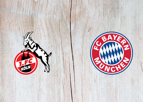 Köln vs Bayern Munich -Highlights 16 February 2020
