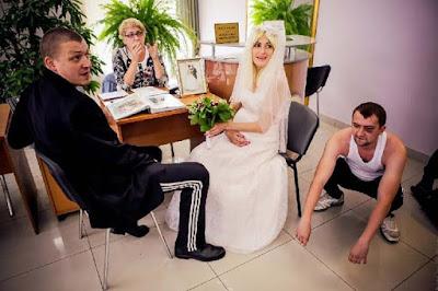 Assis heiraten auf Standesamt lustig - witzige Typen
