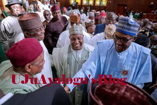 Lawmakers excited about Buhari's budget proposal speech, canvass for re-election