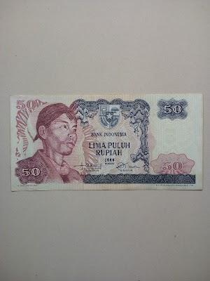 50 rupiah tahun 1968
