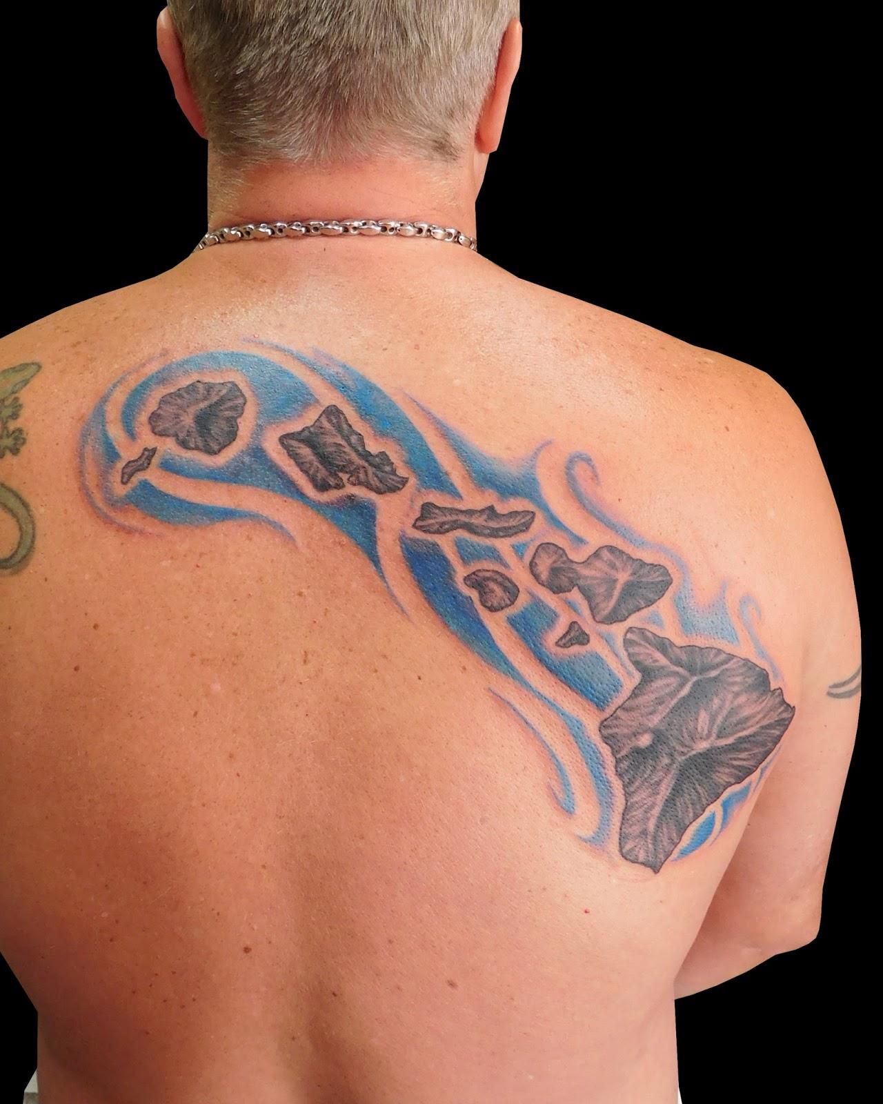 maui atomic tattoo hawaiian islands