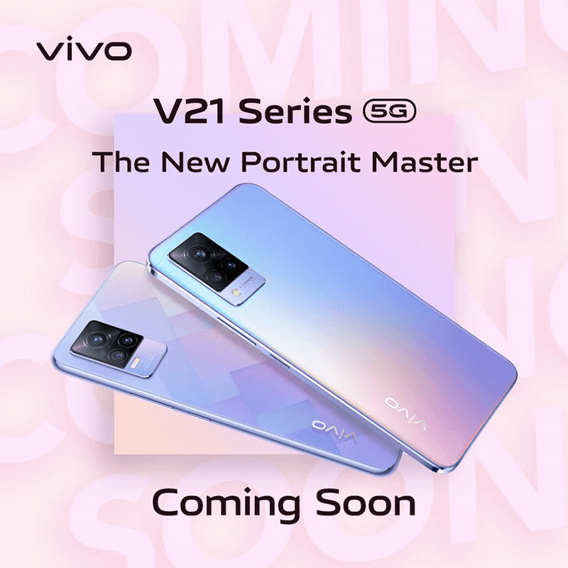 vivo V21 Series 5G is coming to the Philippines