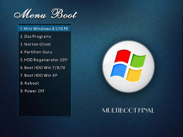 Multiboot Final Legacy-UEFI Version 2 AIO (Trong 1 file duy nhất)