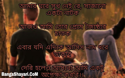 Bengali Shayari with Picture