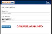 EFORM.BRI.CO.ID/BPUM - Cara Cek Daftar Penerima BPUM dengan Nomor KTP