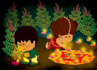 Happy Diwali 2016 images kids 9