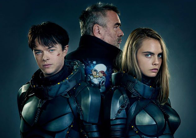 Primera foto oficial de 'Valerian y la ciudad de los mil planetas' con Cara Delevingne y Dane DeHaan