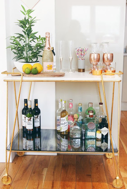 Stylish Bar Carts Design Indulgence