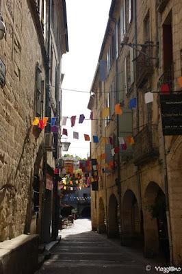 Vie del centro storico di Sommieres