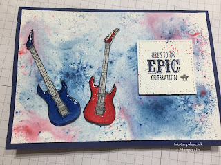 Epic Celebration guitar card