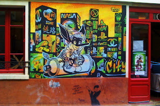 Sunday Street Art : Speedy Graphito - rue de la Butte aux Cailles - Paris 13