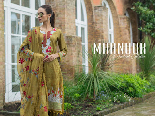 Yashika Mahnoor bin saeed vol 1 | Pakistani lawn Suits Wholesale Price