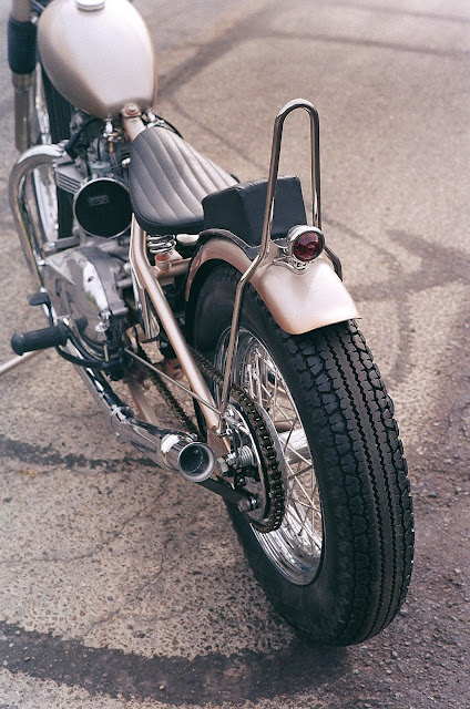 Triumph 1970 By Wrecked Metals Hell Kustom