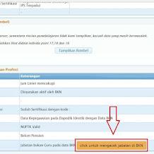 Memperbaiki data kepegawaian perlu verifikasi dengan status bukan guru di Info GTK