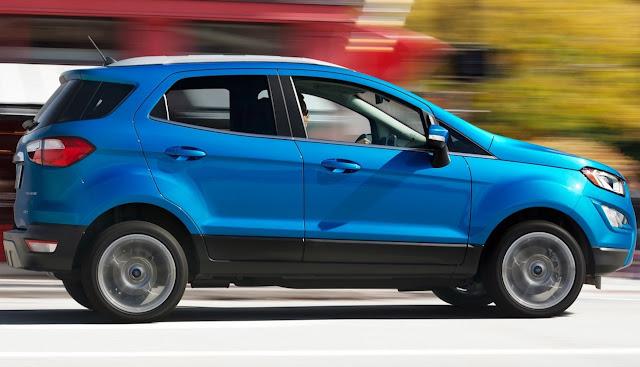 2018 Ford EcoSport blue