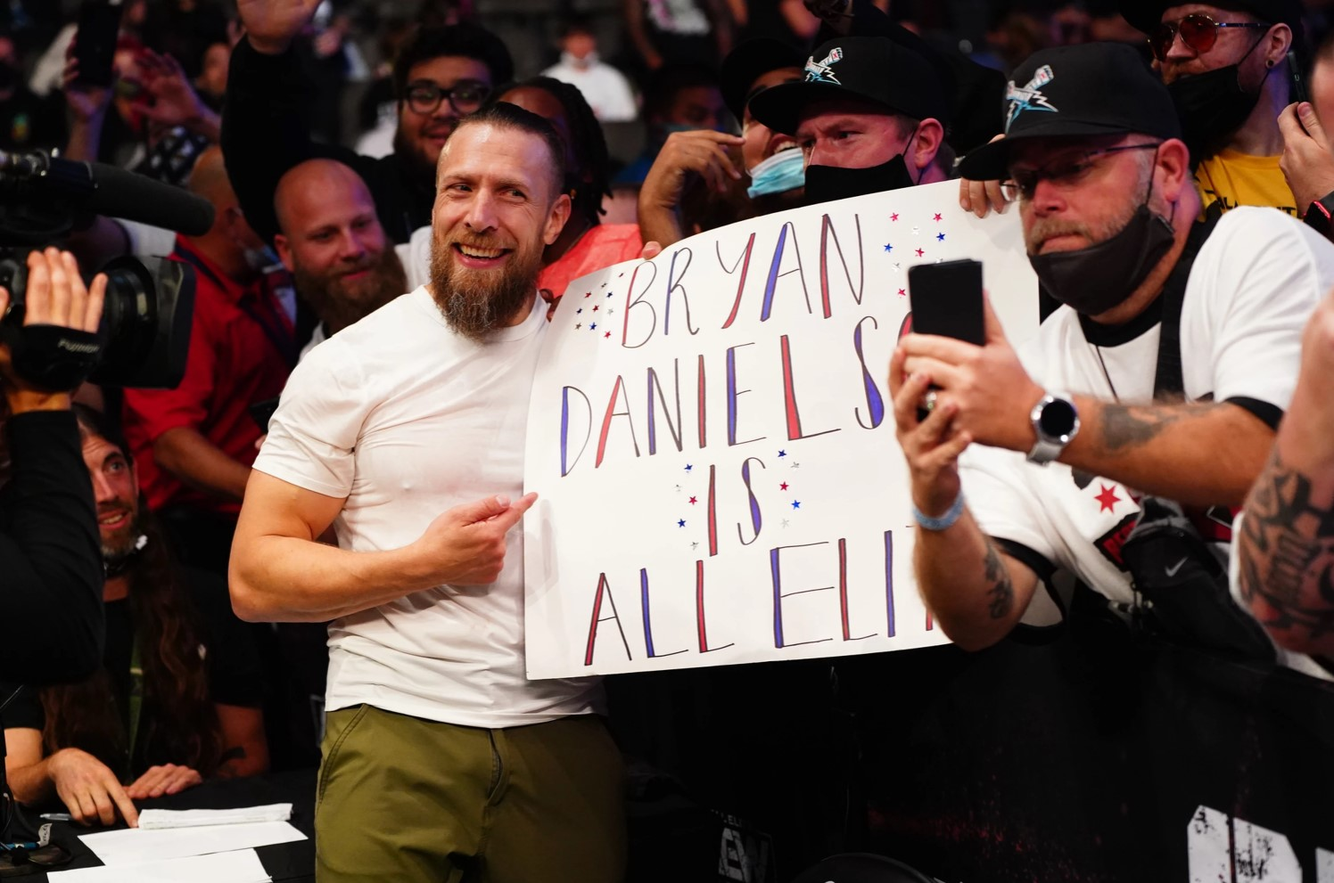 Bryan Danielson debütált az AEW-ban