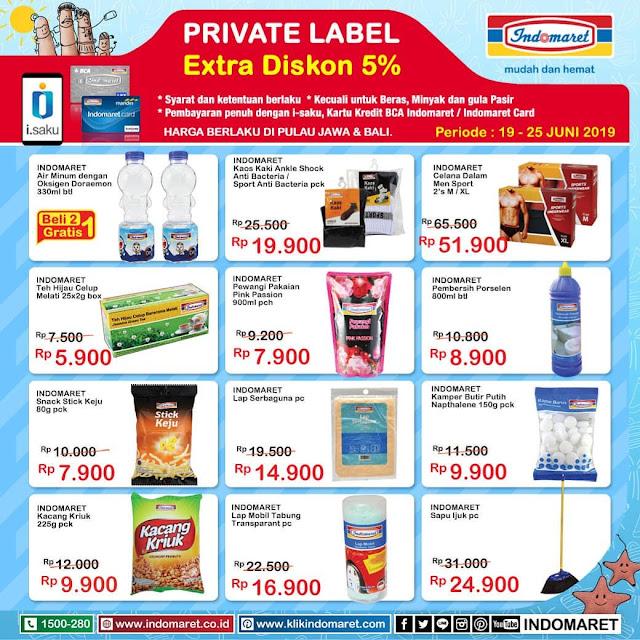 #Indomaret - #Promo #Katalog Private Diskon Periode 19 -24 Juni 2019